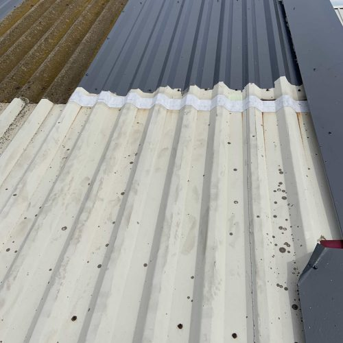 Cut Edge Corrosion Protection - All Seasons Industrial Roofing