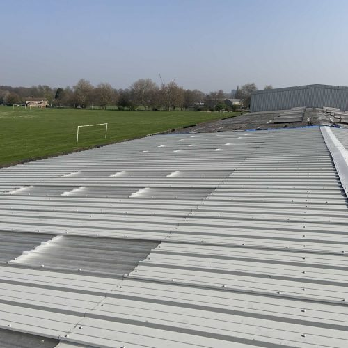 Industrial Roof Cladding Kingspan - All Seasons Industrial Roofing