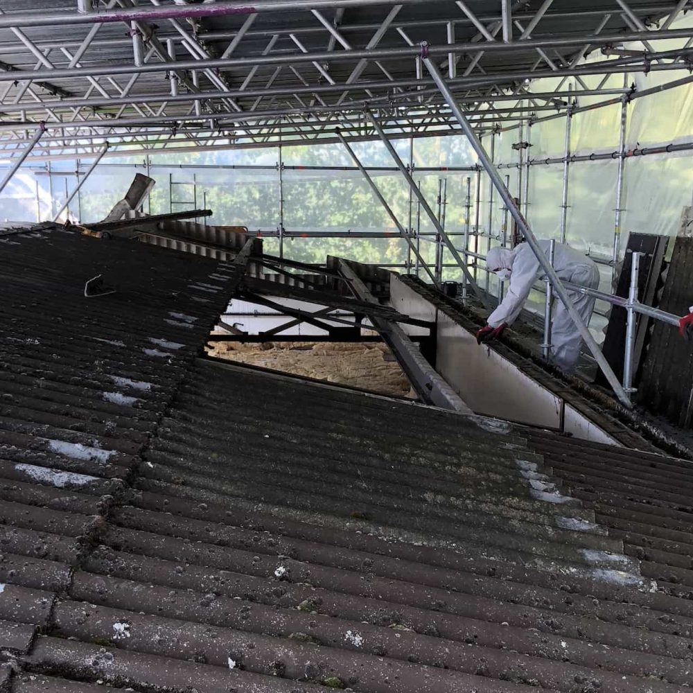 Asbestos Roof Removal - All Seasons Industrial Roofing