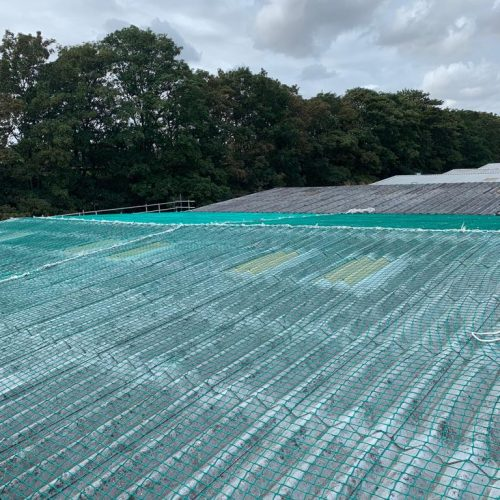 Safety Netting for Roofs - All Seasons Industrial Roofing