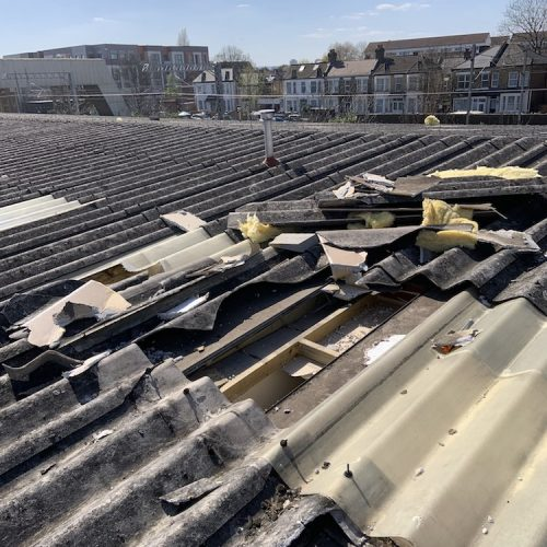 Storm damage roof surveys