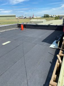 Roof refurbishment at Cotswold Airport - All Seasons Industrial Roofing